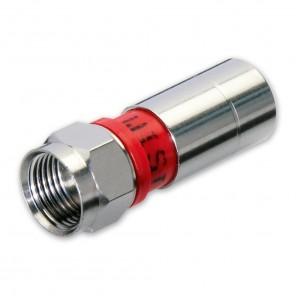 Wisi DV 10N F-Kompressionsstecker mit NiTin-Beschichtung passend für MK 75/76
