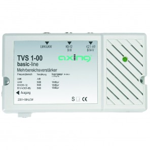 Axing TVS 1-00 Mehrbereichsverstärker | 25dB, 3 Eingänge