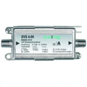 Axing SVS 4-00 Satelliten-Leitungsverstärker Inline (17 dB, 47 - 2400 MHz)