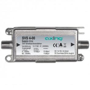 Axing SVS 4-00 Inline-Verstärker Sat/Terrestrik | 12-17 dB, 47-2400 MHz