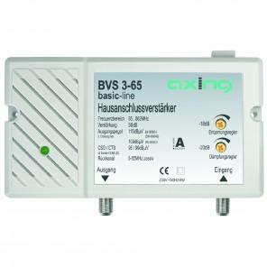 Axing BVS 3-65 BK-verstärker mit Rückkanal 5-65 MHz (30dB, 85-862 MHz, 98dBµV)