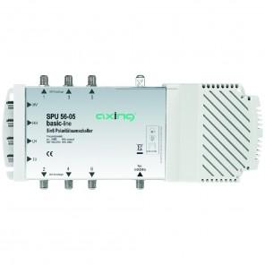 Axing SPU 56-05 basic-line Sat-Multischalter 6 Teilnehmer | 5 in 6, Stand-Alone, HDTV-, 4K-, 3D-tauglich