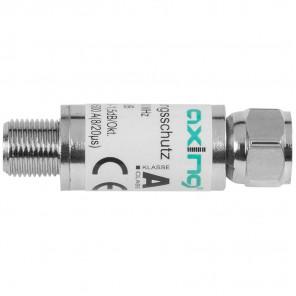 Axing SZU 6-02 Überspannungsschutz für Kabel und SAT | F-Stecker auf F-Buchse