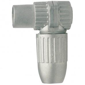 Axing CKK 4-00 Koax-Winkelkupplung aus Metall