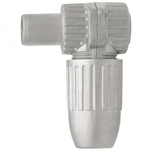 Axing CKS 4-00 Koax-Winkelstecker | Metall