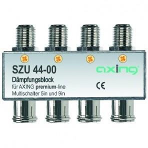 Axing SZU 44-00 SAT-Dämpfungsblock für Multischalter