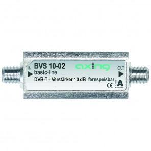 Axing BVS 10-02 DVB-T Miniatur-Inline-Verstärker für DVB-T2 HD und UKW (10 dB)