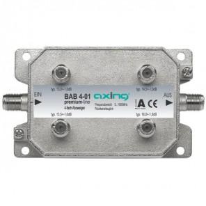 Axing BAB 4-01 Abzweiger   4-fach, 8dB