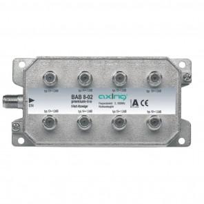 Axing BAB 8-02 8-Fach Abzweiger mit 13-16 dB Abzweigdämpfung (5-1006 MHz)