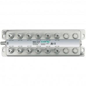 Axing BAB 12-02 12-Fach Abzweiger mit 13-21 dB Abzweigdämpfung (5-1006 MHz)