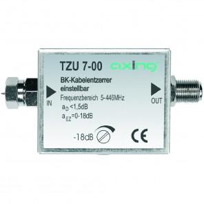 Axing TZU 7-00 BK-Kabelentzerrer | 446 MHz, einstellbar