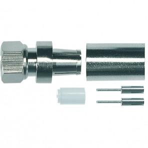 Axing CFS 7-00 F-Stecker | für Dielektrikum-Durchmesser von 7,5 mm