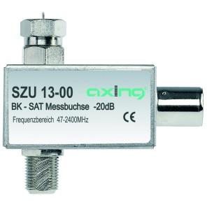 Axing SZU 13-00 ext. Messbuchse für BK + Sat-Verstärker