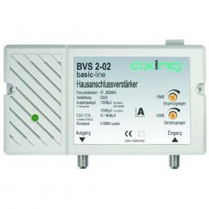 Axing BVS 2-02 Hausanschlussverstärker für BK | 25dB Verstärkung