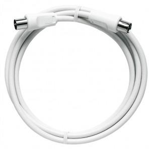 Axing BAK 200-80 BK-Anschlusskabel | IEC, 2,00m, weiß, Class A