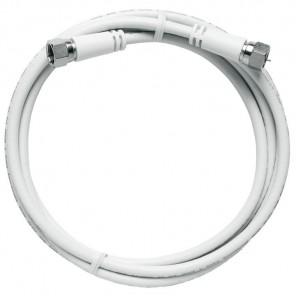 Axing MAK 999-80 F-Anschlusskabel | 10,00m, weiß, Class A