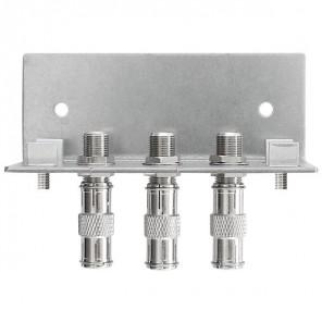 Axing QEW 3-12 Erdungswinkel | 3-fach, Quickfix, für SPU 5xx-05 Multischalter