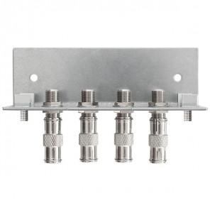 Axing QEW 4-12 Erdungswinkel | 4-fach, Quickfix, für SPU 5xx-05 Multischalter