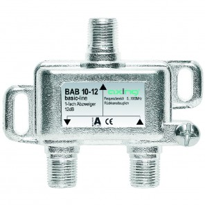 Axing BAB 10-12 Abzweiger | 1-fach, 12dB, basic-line