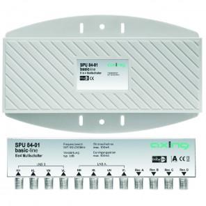 Axing SPU 84-01 Multischalter | DiSEqC 2.0, für Außenmontage, 8 in 4