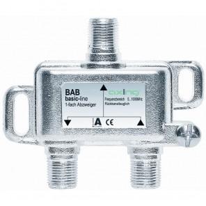 Axing BAB 10-10 1-Fach Abzweiger | 10dB Abzweigdämpfung