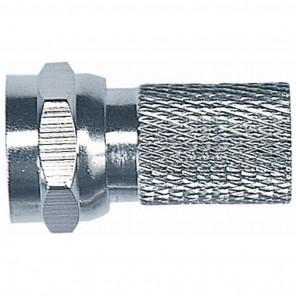 Axing CFS 1-00 F-Stecker| Schraubanschluss, für Kabel mit 6,5 mm Durchmesser