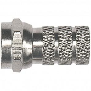 Axing CFS 2-00 F-Stecker für Kabel mit einem 5,2mm Durchmesser