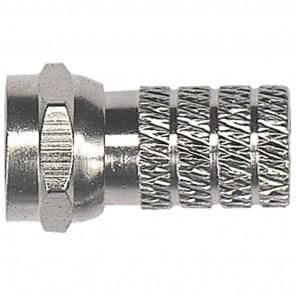 Axing CFS 4-00 F-Stecker für Kabel mit einem 4,7mm Durchmesser