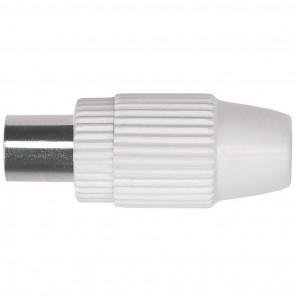 Axing CKS 1-00 IEC-Koaxstecker | Kunststoff