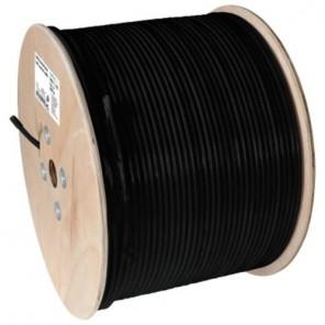 Axing SKB 11-03 Koaxialkabel | schwarz, 300m Trommel