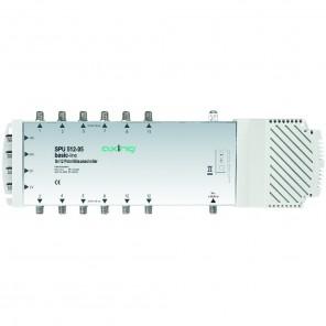 Axing SPU 512-05 basic-line Sat-Multischalter 12 Teilnehmer | 5 in 12, Stand-Alone, HDTV-, 4K-, 3D-tauglich