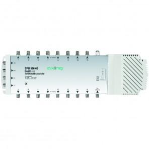 Axing SPU 516-05 Multischalter | 5 in 16, SAT aktiv, Quad-tauglich