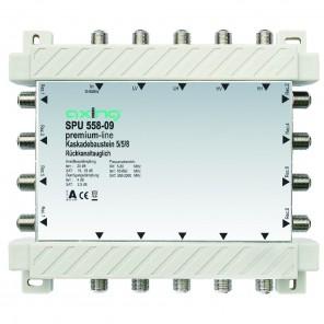 Axing SPU 558-09 premium-line Kaskadenbaustein 8 Teilnehmer passiv | 5 in 8, kaskadierbar, HDTV-, 4K-, 3D-tauglich