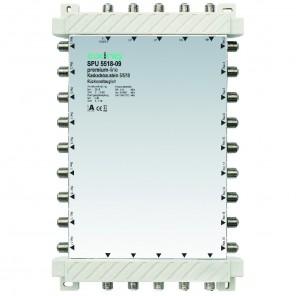 Axing SPU 5518-09 premium-line Kaskadenbaustein 18 Teilnehmer passiv | 5 in 18, kaskadierbar, HDTV-, 4K-, 3D-tauglich