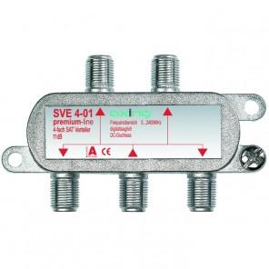 Axing SVE 4-01 4-fach SAT-Verteiler | 5-2200 MHz
