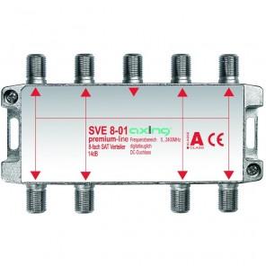 Axing  SVE 8-01 8-fach SAT-Verteiler