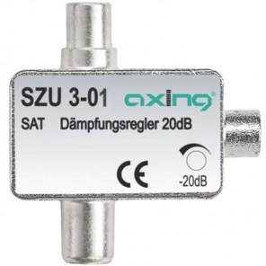 Axing SZU 3-01 Sat-Dämpfungsglied | 0,5-20 dB einstellbar