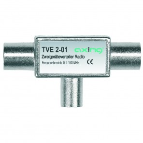 Axing TVE 2-01 Zweigeräteverteiler Radio