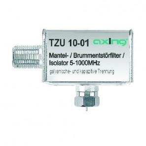 Axing TZU 10-01 Mantelstrom-/Brummentstörfilter | F-Anschluss