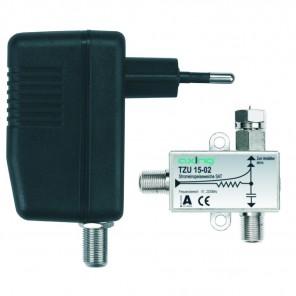 Axing TZU 110-01 BK/Sat DC-Einspeiseset | 12V