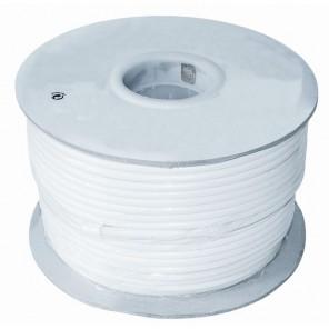 Axing SKB 395-01 Koaxialkabel | weiß, 100m Spule, 3-fach geschirmt
