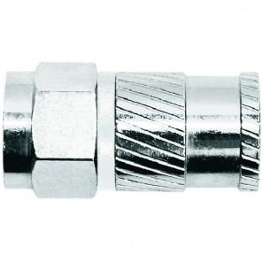 Axing CFS 93-51 F-Stecker | Opti-fix, self compression, bis 5,1mm Dielektrikum