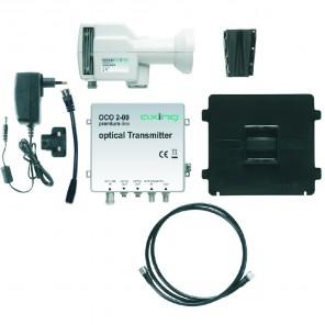 Axing OCO 2-00 optisches LNB-Set mit terrestrischer Einspeisung