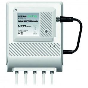 Axing OPU 14-00 Optischer Konverter | Quattro + TERR inkl. Netzteil