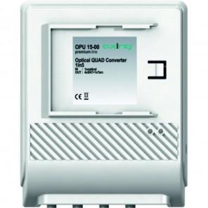 Axing OPU 15-00 Optischer Konverter | Quad + TERR, Anschluss an max. 4 Receiver