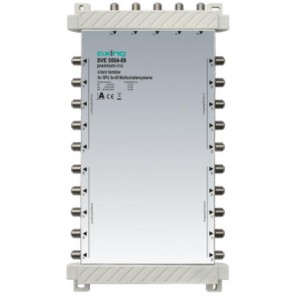 Axing SVE 5504-09 4-fach SAT-Verteiler | 4x Sat/1xterr.