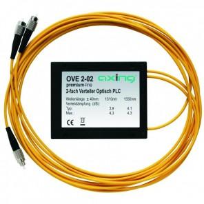 Axing OVE 2-02 optischer 2-fach Verteiler