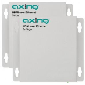 Axing HOE 1-00 HDMI over Ethernet | Sender/Empfänger Starter-Set