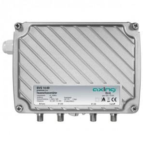 Axing BVS 14-69 BK-Verstärker | 40 dB, Ortsspeisung 100-240V