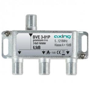 Axing  BVE 3-01P BK-3fach Verteiler, 5-1218 MHz